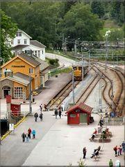 La Ferrovia e il museo ferroviario a Fläm