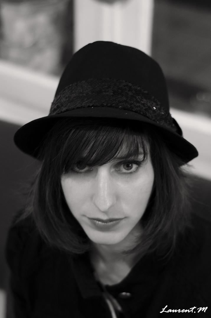 """""""La fille au chapeau """""""