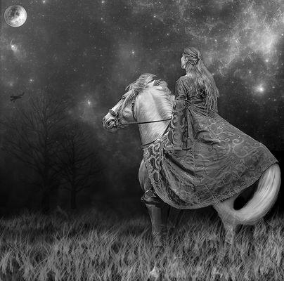 La Fille de la Lune...Lady Godiva...(merci Teresa)
