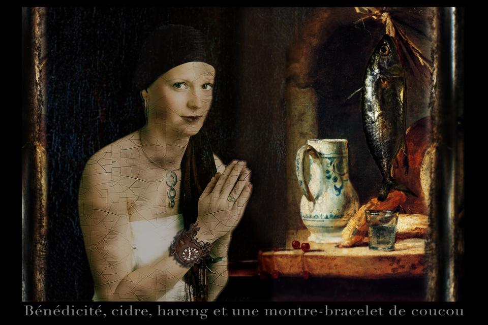 La fille de Saskia - l'épouse de Rembrandt -