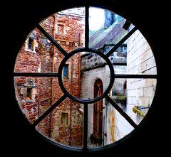 la finestra del castello Dunrobin