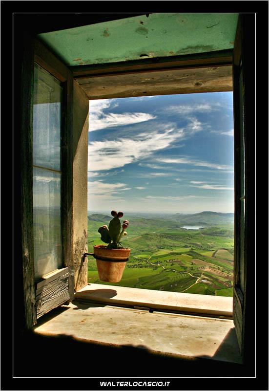 La finestra siciliana foto immagini paesaggi campagna - Finestra sul mondo ...