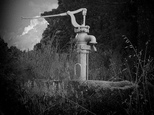 La fontaine abandonnéee.