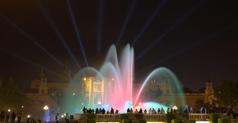 La fontaine magique