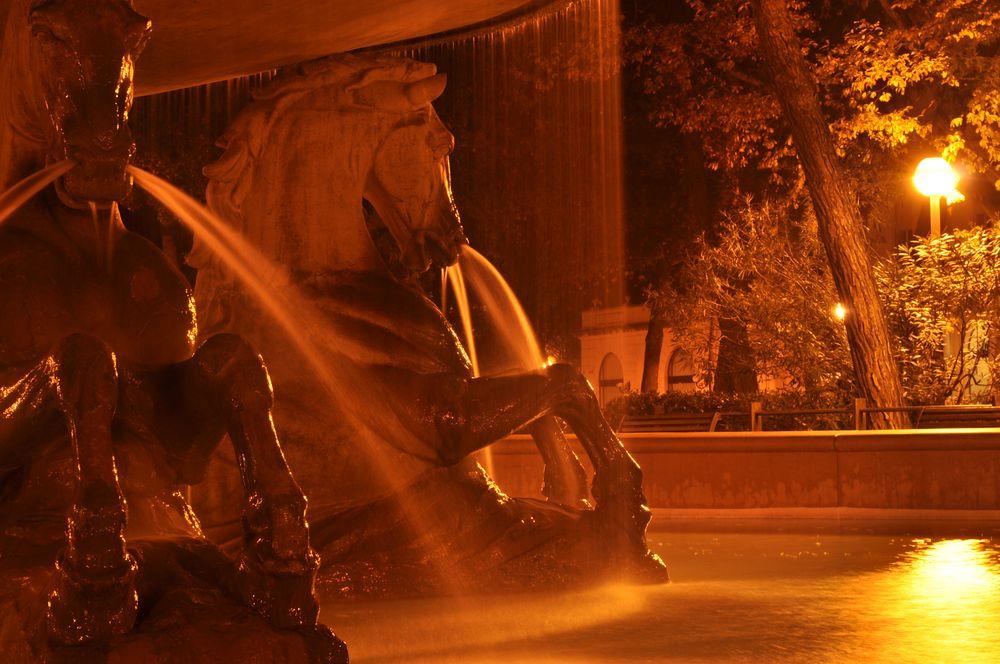 La fontana dei quattro cavalli by Marco P.iva
