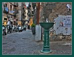 La fontana del Borgo degli Orefici