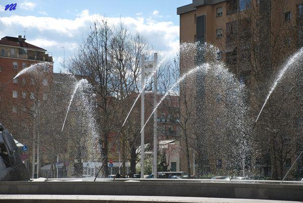La Fontana di Merz a Torino - Mario Merz's fountain in Spina 1