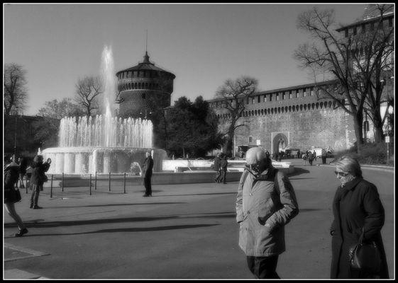 la fontana...Milano