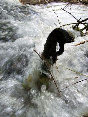La force de l'eau...