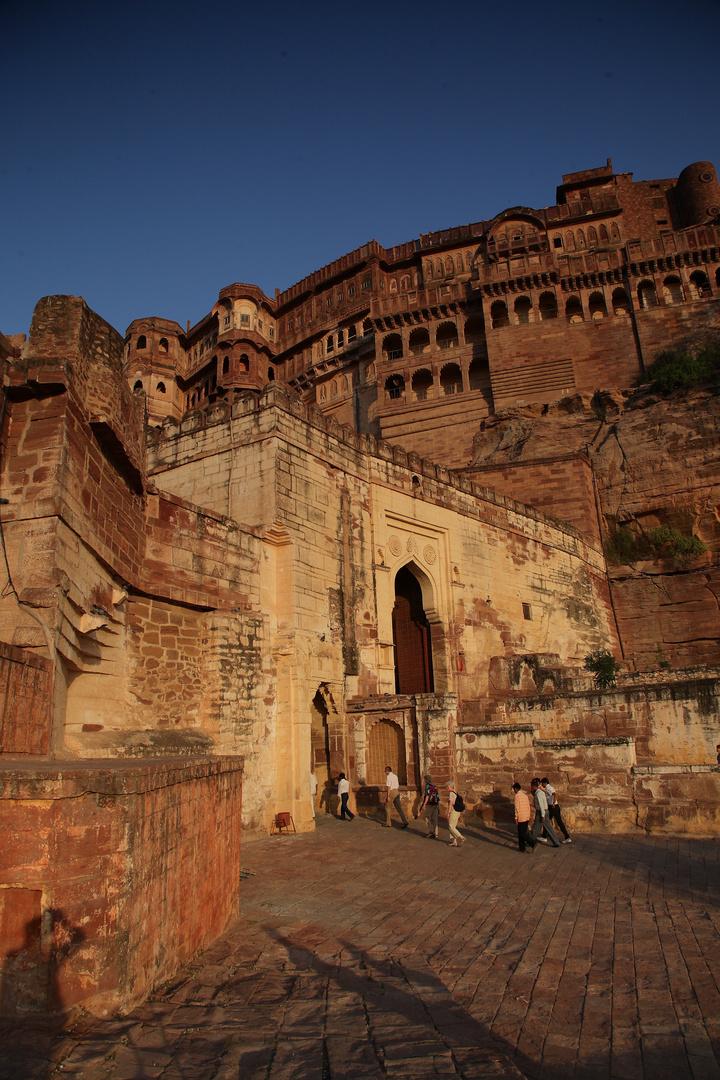 La forteresse de Mehrangarh, Jodhpur, Rajasthan.