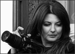 La fotografa in bianco e nero
