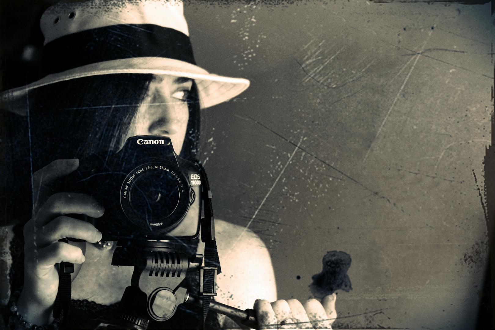 la fotografía es un 5% técnica y un 95% imaginación.