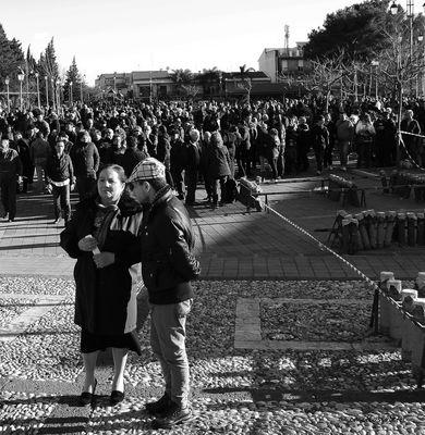 La fête de saint Grégoire: en dehors de l'église