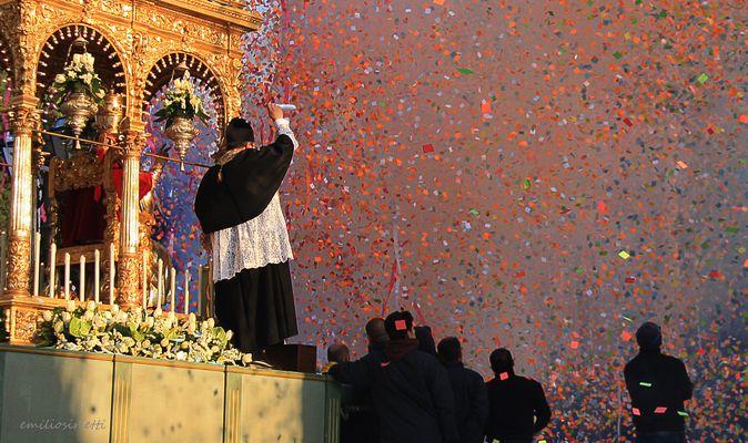 La fête de saint Grégoire: la sortie du Saint