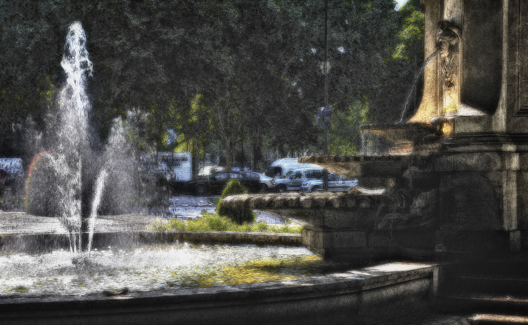 La fuente