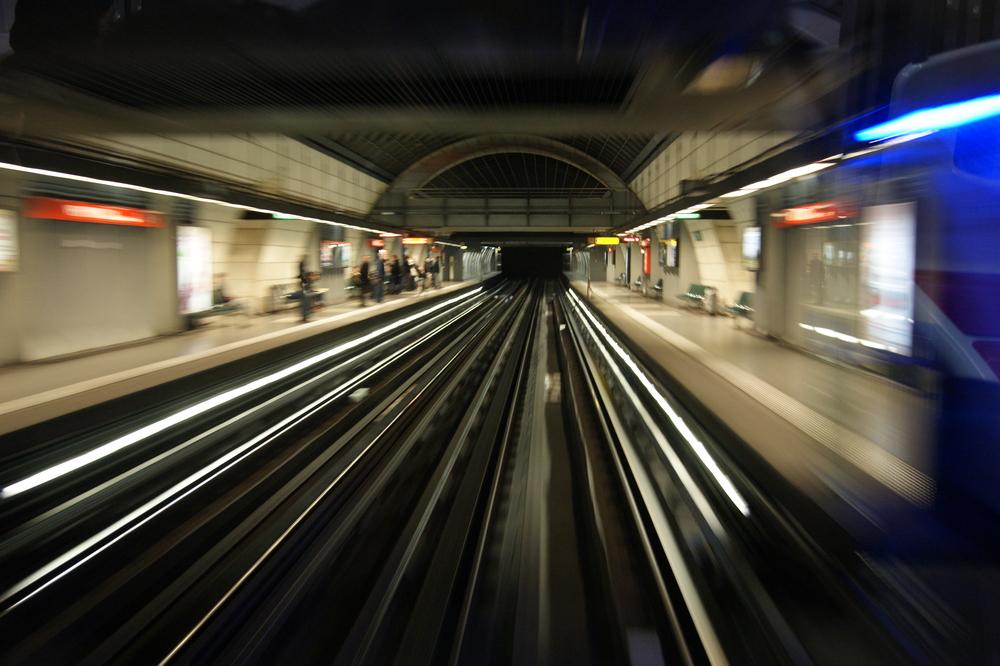 la fuite du metro
