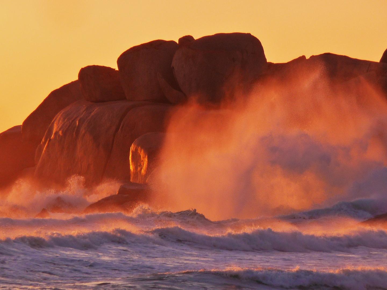La furia del mar