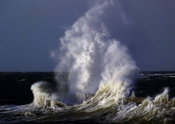 La furie de la mer