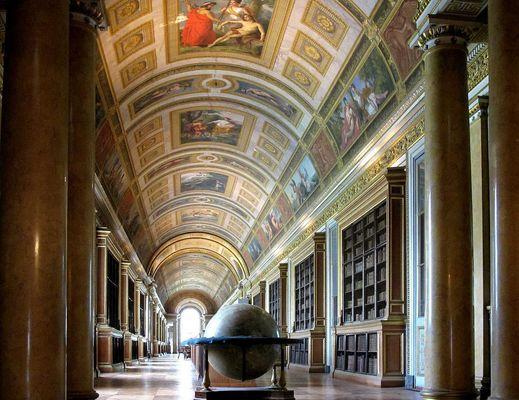La Galerie de Diane à Fontainebleau