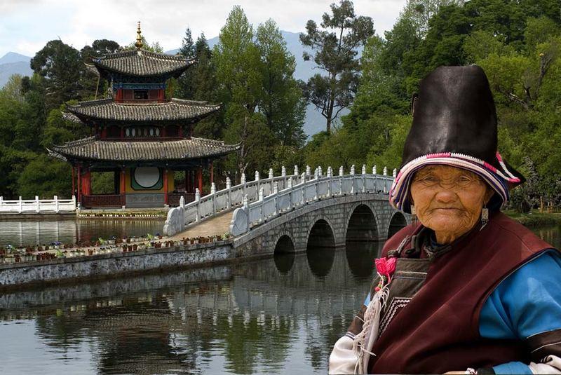 la gardienne de la pagode de Lijiang