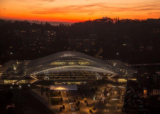La gare Calatrava à Liège
