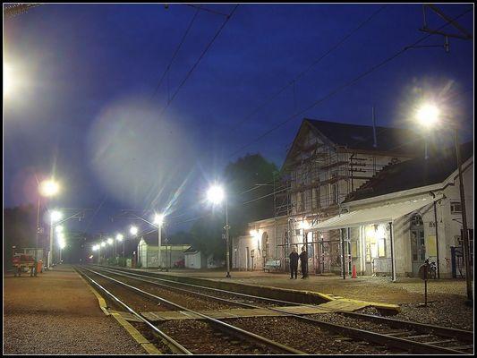 La gare de Vielsalm...