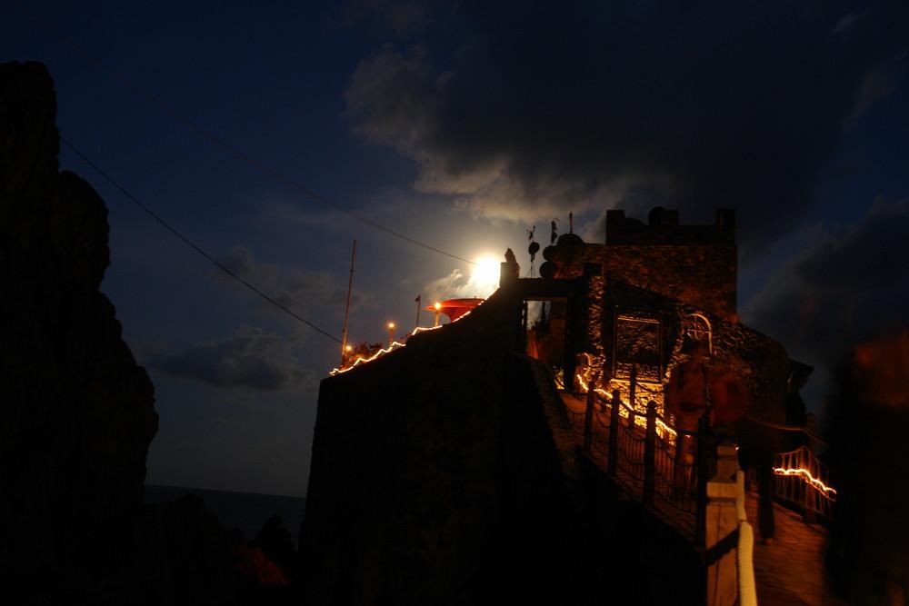 La Gomera Castillo del Mar Vollmond 1