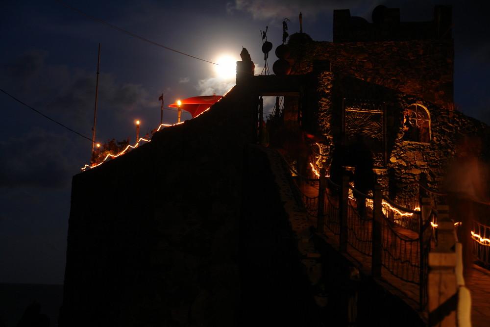 La Gomera Castillo del Mar Vollmond 2
