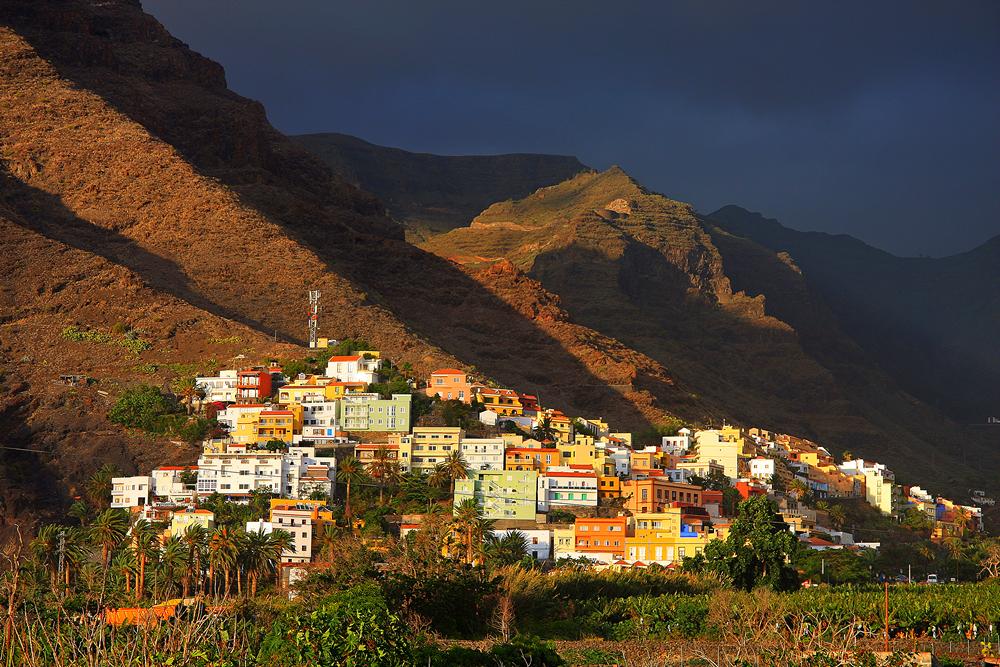 La Gomera - wenn die Sonne versinkt