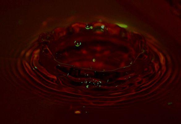 La goutte d'eau...