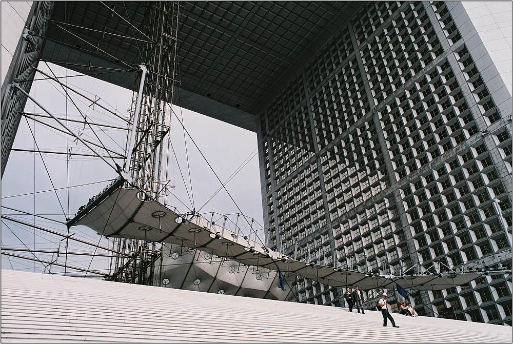 La Grande Arche # 3 (La Defense, Paris)
