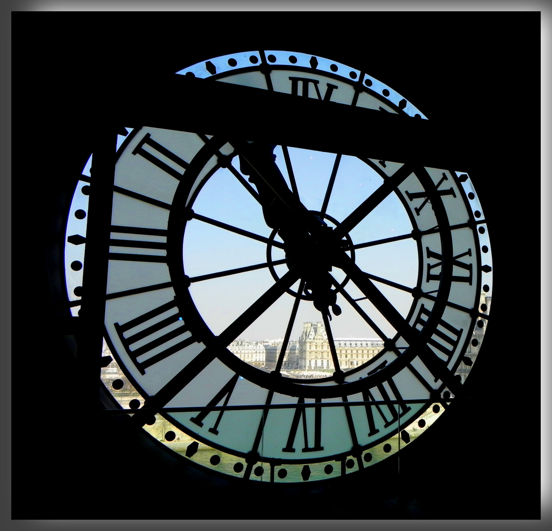 La grande horloge d'Orsay