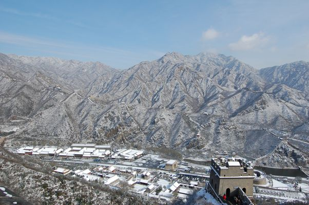 La Grande Muraille sous la neige