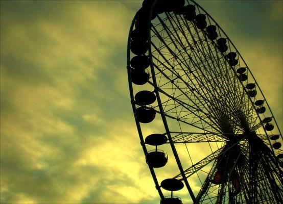 La grande roue de Lille.