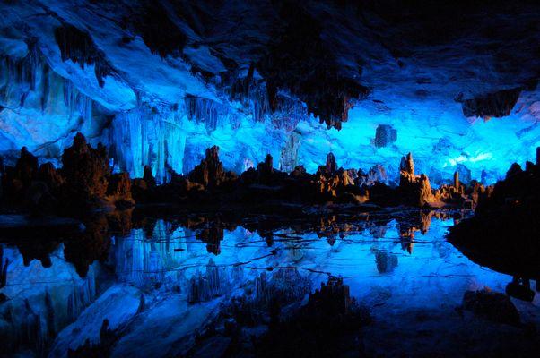La grotte de la flûte de roseau (Chine)