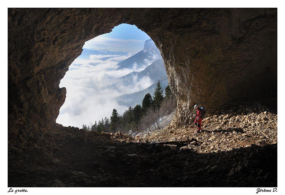 La grotte de la Rousse (Chartreuse)