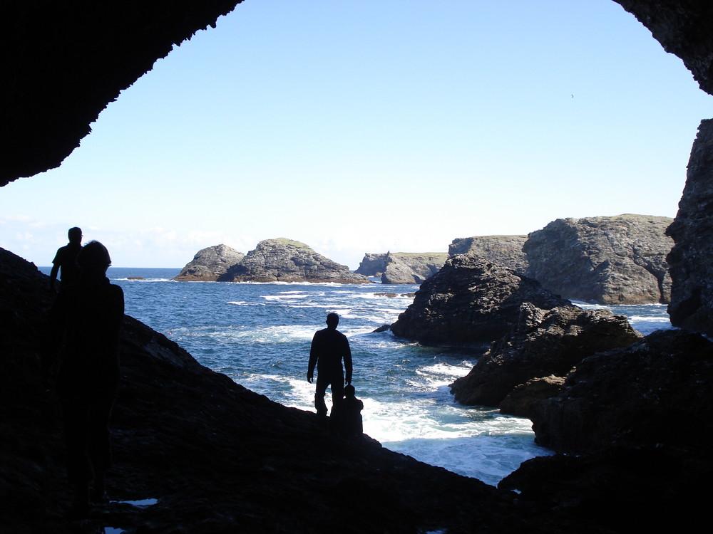 la grotte de l'apoticaire -belle ile