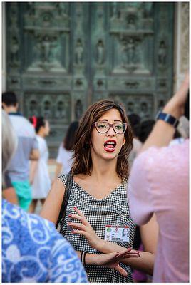 La guida turistica