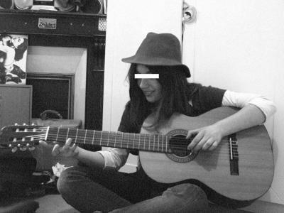 La guitariste inconnue