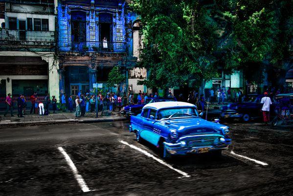 La Habana in Blue