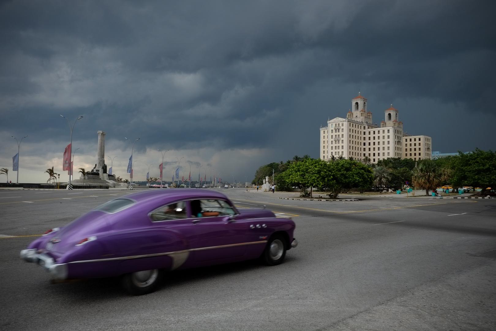La Havane orage