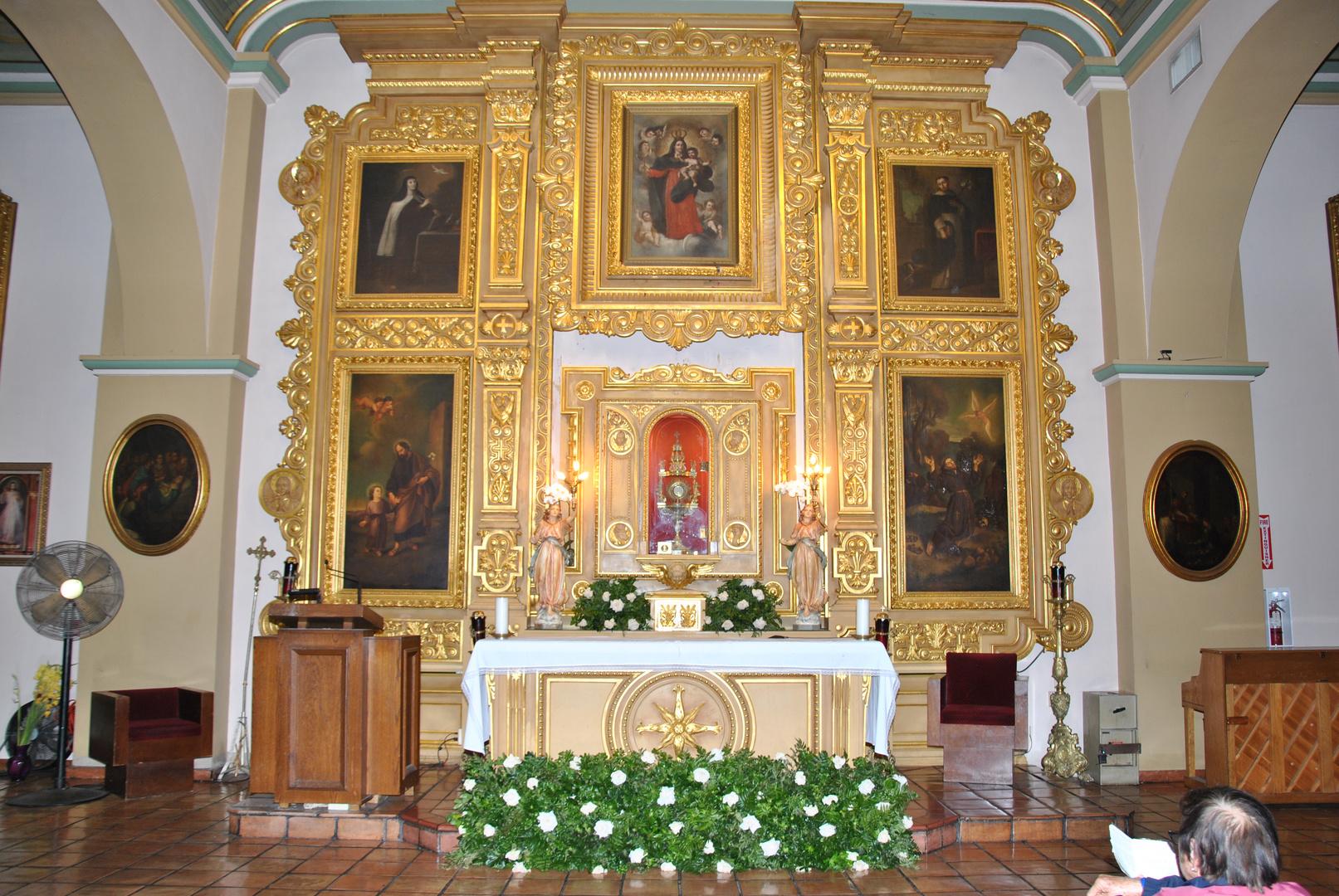 La Iglesia de Nuestra Señora Reina de los Angeles.1