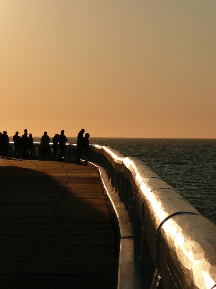 la jetée d'Oostende