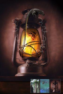 La lampe prison...