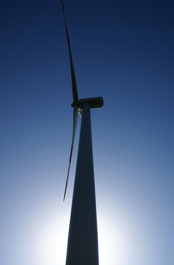 la leggera energia del vento
