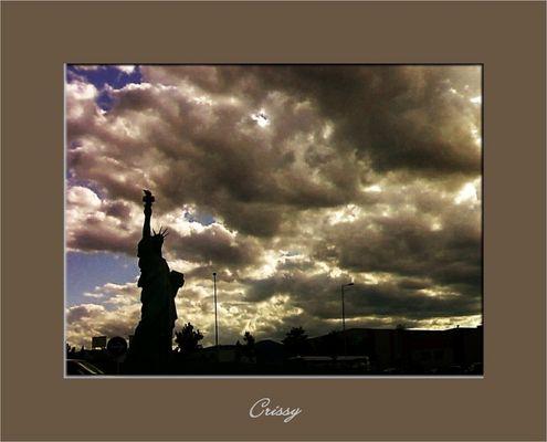La libertad iluminando el mundo