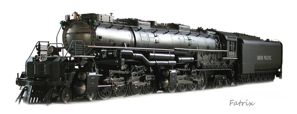 La loco a vapore piu' grande del Mondo