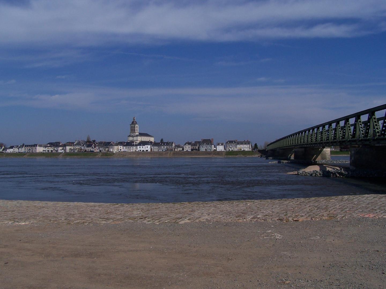 La Loire à Saint Mathurin (Maine-et-Loire)