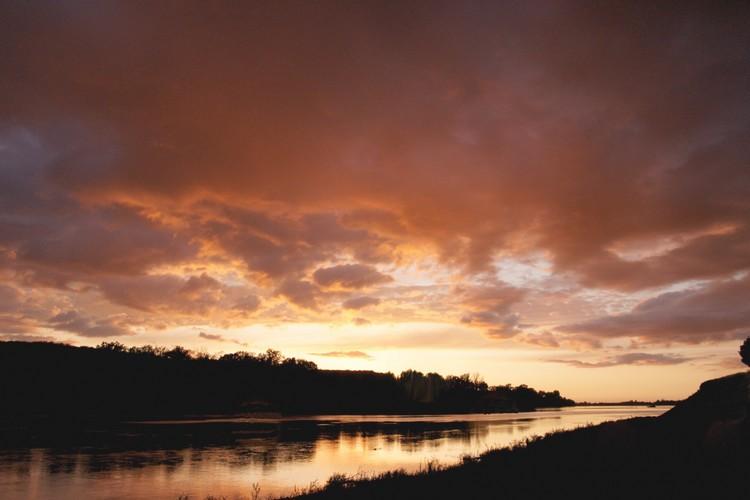 La Loire au couchant