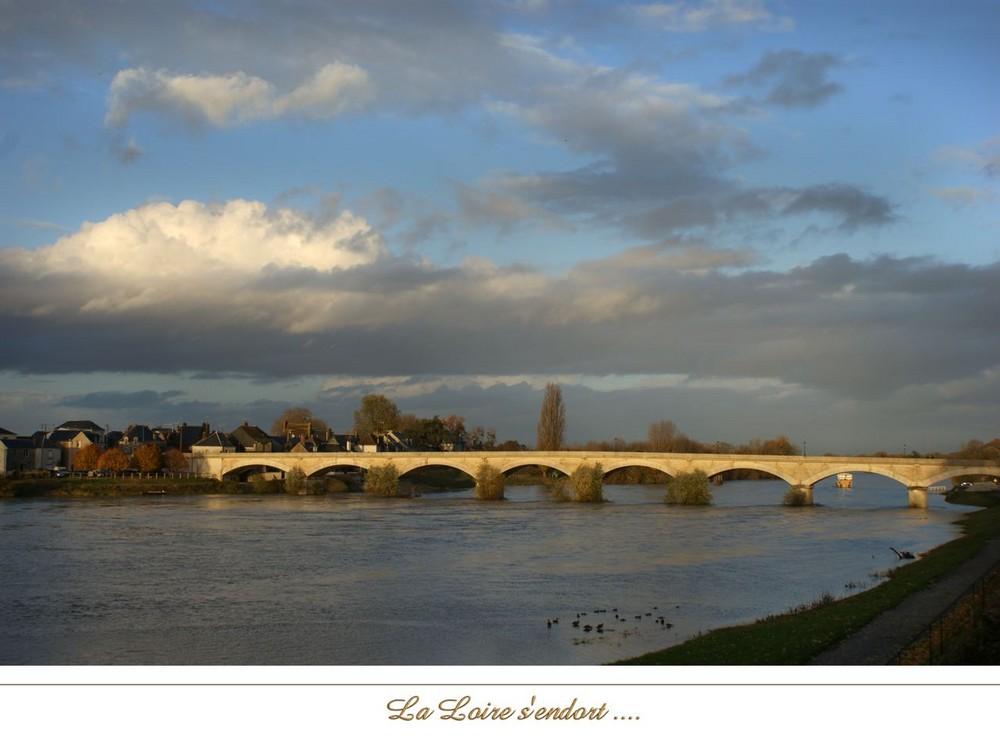 La Loire s'endort ...